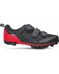 Buty Specialized MTB Comp 2019 Black/Rocket Red